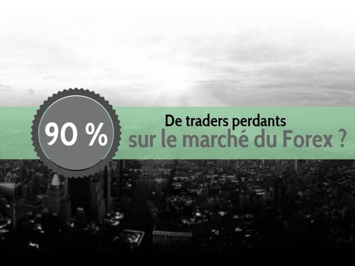 90 % de traders perdants sur le Forex ?